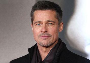 Attore famoso Brad Pitt