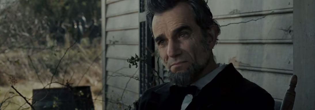 Attore famoso Daniel day Lewis in lincoln