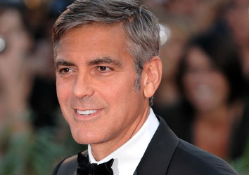 Attore famoso George Clooney