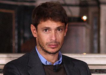 Attore famoso Giorgio Pasotti
