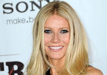 Attore famoso Gwyneth Paltrow
