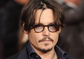 Attore famoso Johnny Depp