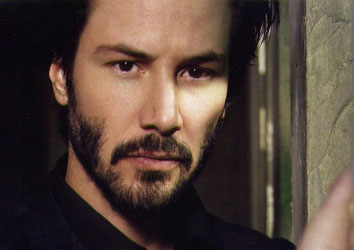 Attore famoso Keanu Reeves