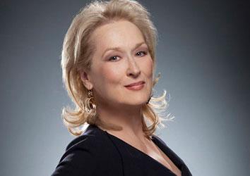 Attore famoso Meryl Streep