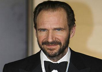 Attore famoso Ralph Fiennes
