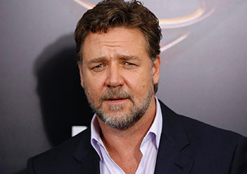 Attore famoso Russell Crowe